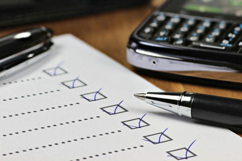 Talousjohtamisen checklist