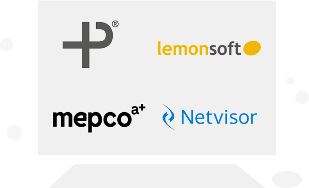 Ohjelmistot - Procountor, Lemonsoft, Mepco HRM, Netvisor